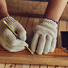 Drawing Work Gloves