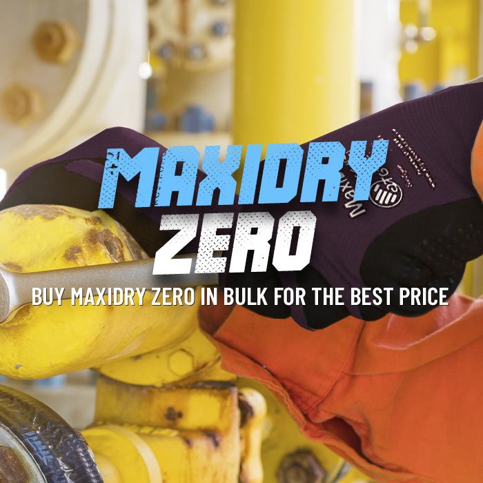 Buy MaxiDry Zero Gloves with a Bulk Price Discount