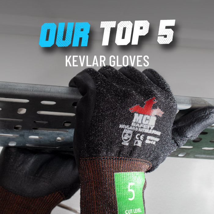 Our top 5 kevlar gloves