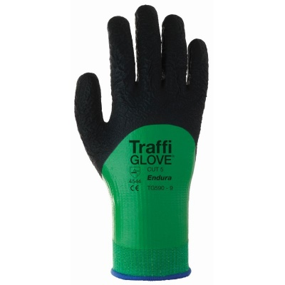 TraffiGlove TG590 Endura Cohesion XP Coating Cut Level 5 Safety Gloves