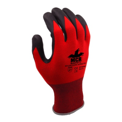 MCR Safety GP1005NP Nitrile PU Palm-Coated Work Gloves