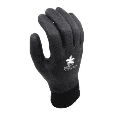MCR Safety Winter Lined Water-Repellent Fully-Coated Work Gloves WL1048HP
