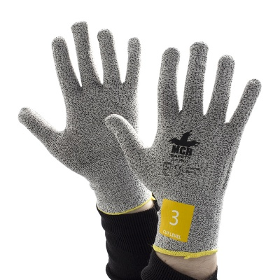 MCR Safety Cut Pro CT1007NO Uncoated Work Gloves