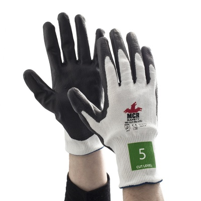 MCR Safety Cut Pro CT1017PU PU Palm-Coated Work Gloves