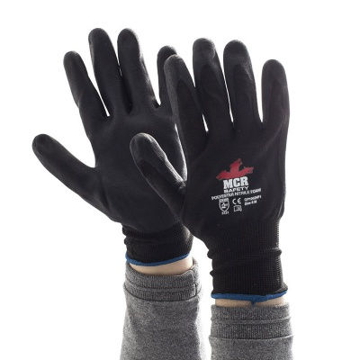 MCR Safety General Purpose GP1002NF Nitrile Foam Palm-Coated Work Gloves
