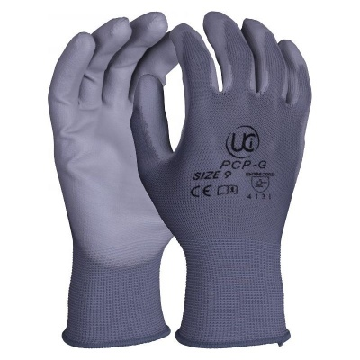 PU-Coated Delicate Handling PCP-G Grey Gloves