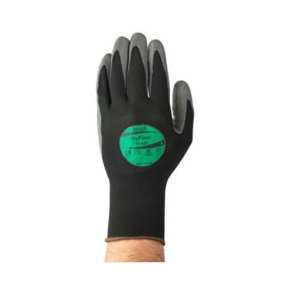 Ansell HyFlex 11-421 Water-Based Nylon Work Gloves