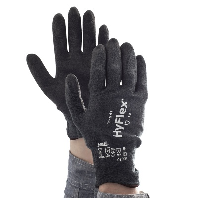 Ansell HyFlex 11-541 Cut-Resistant Nitrile Palm-Coated Work Gloves