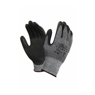 Ansell HyFlex 11-651 Cut-Resistant PU Palm Fit Coated Work Gloves