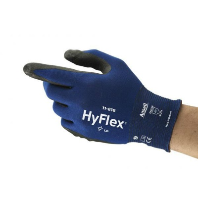 Ansell HyFlex 11-816 Abrasion-Resistant Ultra-Thin Gloves