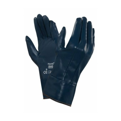 Ansell Hynit 32-800 Safety Cuff Nitrile Oil-Repellent Gloves