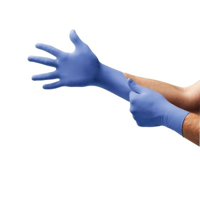 Ansell Microflex 93-823 Sensitive Skin Disposable Nitrile Gloves