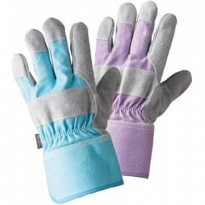 Briers Ladies Rigger Gardening Gloves Twin Pack B6972
