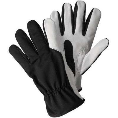 Briers Black Super Soft and Strong Leather Gardening Gloves B6978