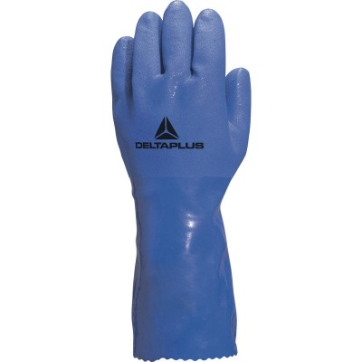 Delta Plus PVC Coated Oil Resistant Cotton Lined Petro VE780 Gloves