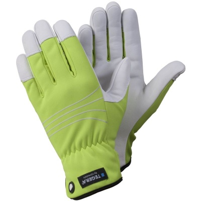 Ejendals Tegera 290 Hi-Vis Windproof Outdoor Work Gloves