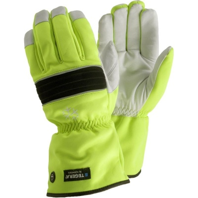 Ejendals Tegera 299 Hi-Vis Thermal Waterproof Outdoor Work Gloves