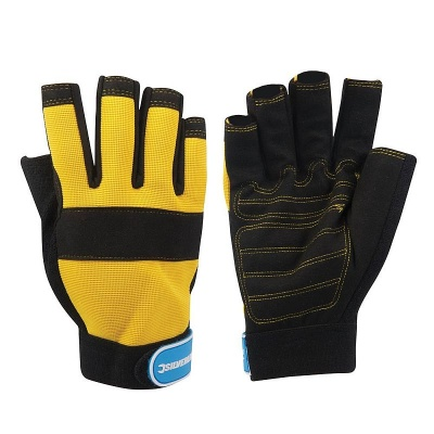 Silverline Fingerless Neoprene Mechanics Gloves