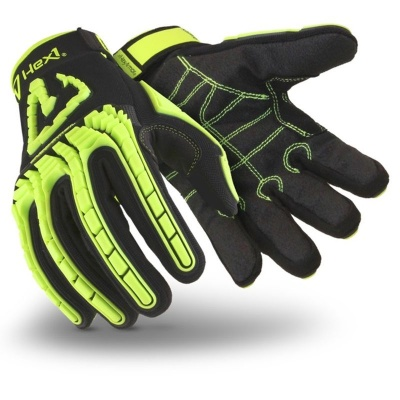 HexArmor Hex1 Hi-Vis Reinforced Mechanics Comfort Gloves 2131