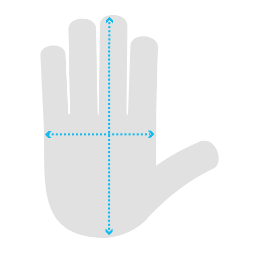Hand Measurement Chart