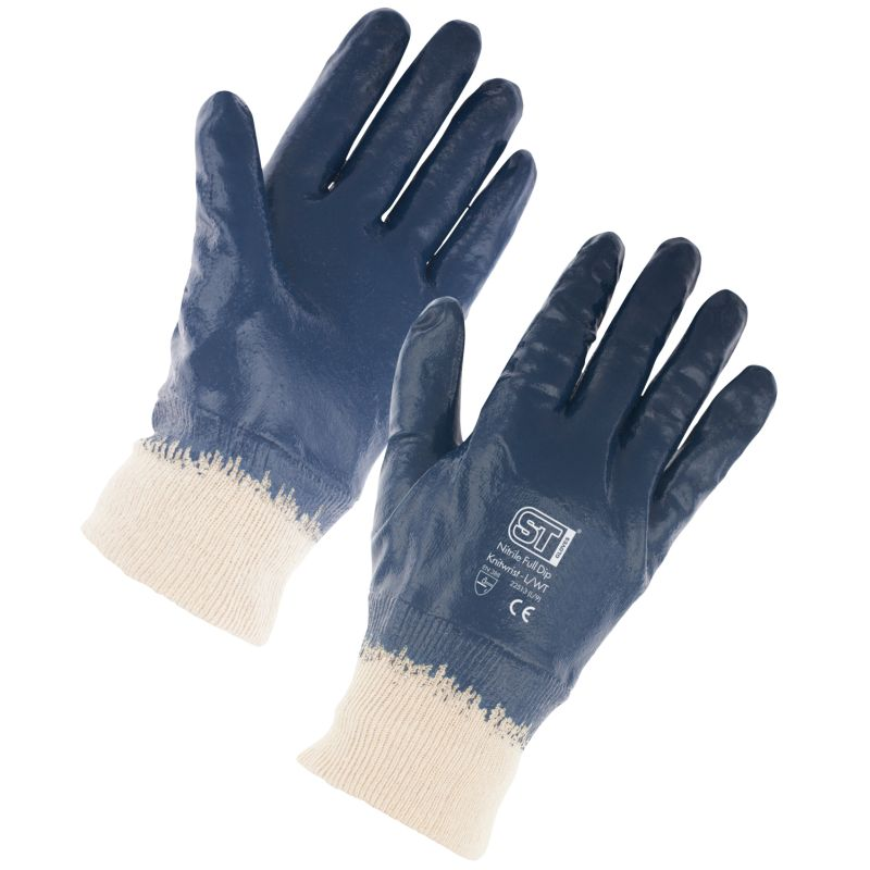 Supertouch 2254/2251 Lightweight Full-Dip Nitrile Gloves