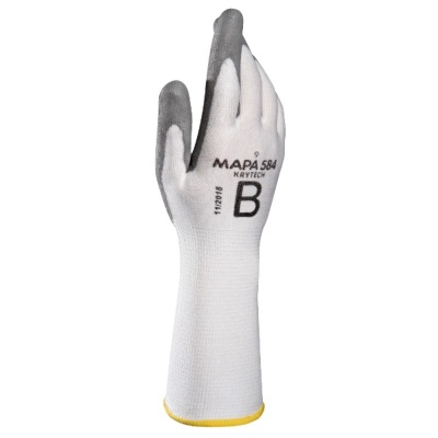 Mapa KryTech 584 Extra Long PU Handling Gloves with Knitwrist