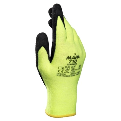 Mapa TempDex 710 Heat-Resistant Nitrile Grip Gloves