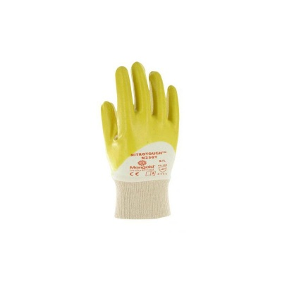 Marigold Industrial Nitrotough N230Y 3/4 Nitrile Coated Gloves