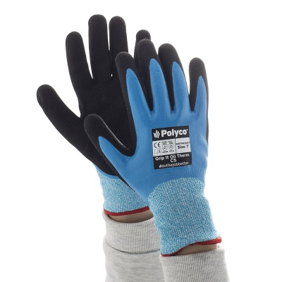Polyco Grip It Oil C5 Thermal Gloves GI0THK5