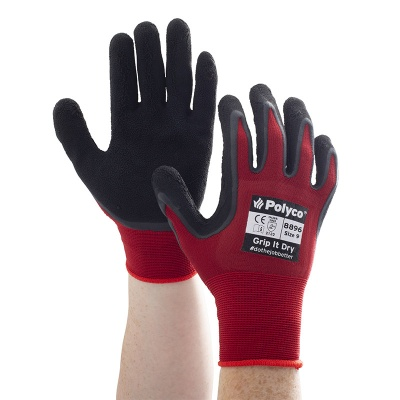 Polyco Grip It Dry Work Gloves 889