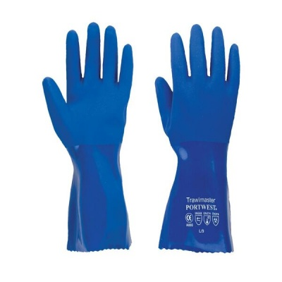 Portwest 30cm Trawlmaster Chemical-Resistant Gauntlets A880
