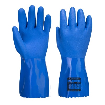 Portwest Marine Ultra PVC Chemical Grip Gloves A881