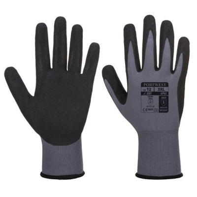 Portwest Dermiflex Waterproof Nitrile Gloves AP62