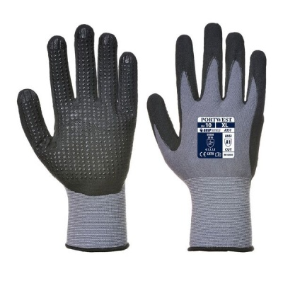 Portwest A351 DermiFlex Micro PVC Grip Gloves