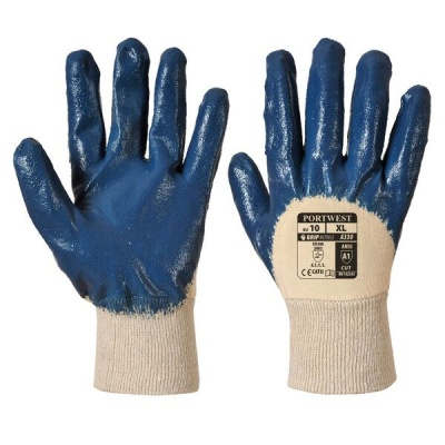 Portwest Light Handling Navy Nitrile Gloves A330NA