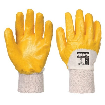 Portwest A330 Light Handling Yellow Nitrile Gloves