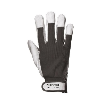 Portwest A250 Tergsus Leather Black Gloves