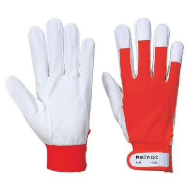 Portwest A250 Tergsus Leather Red Gloves