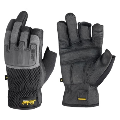 Snickers Power Core Reinforced Open Finger Gloves 9586