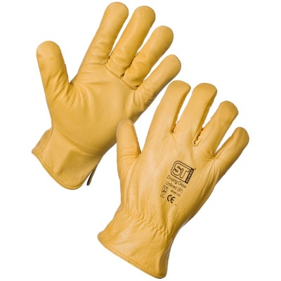 Supertouch 2054 Unlined Leather Driving Gloves