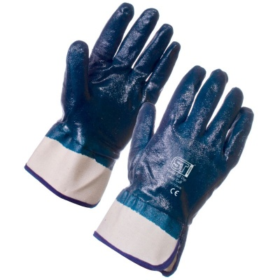 Supertouch 2217 Nitrile Heavyweight Full Dip Gloves