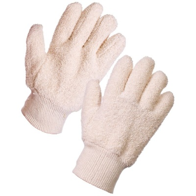 Supertouch 28103 24oz Terry Cotton  Knit Wrist Gloves