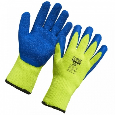 Supertouch Topaz Cool Yellow-and-Blue Thermal Work Gloves