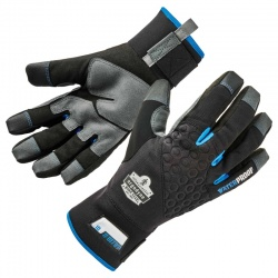 Ergodyne ProFlex 817WP Thermal Winter Work Gloves with Reinforced Palms