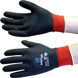 Adept Oil NFT Nitrile Fully Coated Gloves