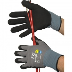 Adept NFT Nitrile Palm Coated Gloves