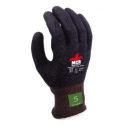 MCR Safety CT1014SL Cut-Resistant Kevlar Latex-Coated Work Gloves