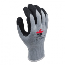 MCR Safety General Purpose GP1001SL Latex Palm-Coated Work Gloves