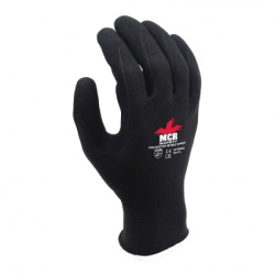 MCR Safety General Purpose GP1002NS Sandy Nitrile Palm-Coated Work Gloves