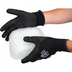 IceTherm BK Foam PVC Palm Coated Gloves